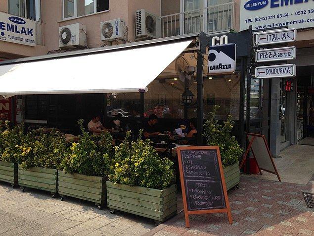Yabancı damadımız 2012, 2013 yıllarında İstanbul Şişli taraflarında The Pizza.co isminde bir İtalyan restoran açmıştı.