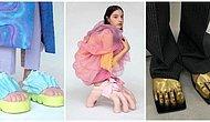 Her Zaman Yeni Bir Tuhaflıkla Karşımıza Çıkan Moda Dünyasının Son Yeniliği Ayaklı Ayakkabılar