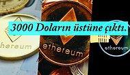 Ben Bakmıyorumcular Buraya! Ethereum Mayıs Ayından Beri İlk Defa 3000 Doların Üzerine Çıktı