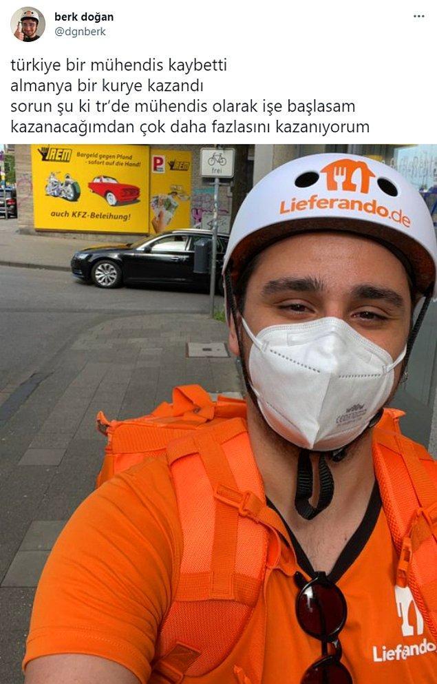 1. Twitter'da son dönemlerde 'Türkiye bir mühendis kaybetti' paylaşımı ile yeni bir akım başladı.