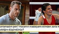 Madalya Eleştirilerine Maruz Kalan Şampiyon Busenaz Sürmeneli ile Kerem Bürsin Arasında Geçen Diyalog