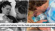 Halsey, Alev Aydın ile Bebeği Ender'in Fotoğrafının Altına Yazdığı Yazıyla Herkesi Güldürdü!