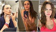 Cinsel Organını Satışa Çıkartarak Sansasyon Yaratan Model Cara Delevingne Çırılçıplak Fotoğrafını Paylaştı!