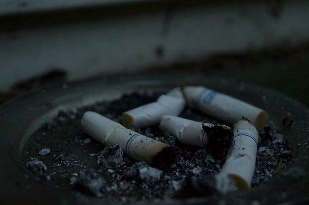 3. Sigara kullanımı.