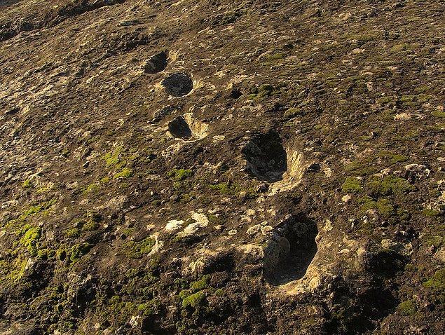 10. gizemli ayak izlerinin kökeni (italya)