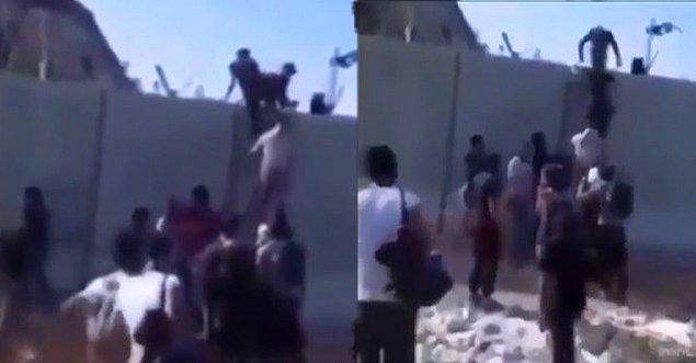 Birçok haber sitesinde ve sosyal medya paylaşımında bu video Afgan göçmenlerin Türkiye sınırına merdiven dayayarak geçtiği iddiasıyla paylaşıldı.