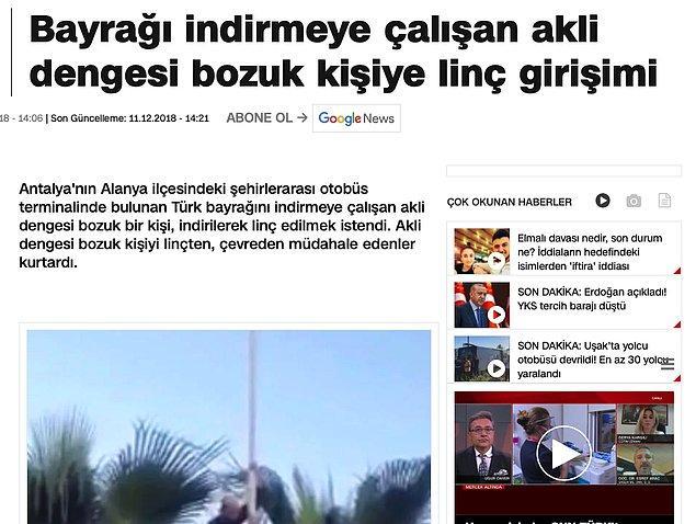 Bu olayda mültecilerle ilgili herhangi bir bağlantı da yok. CNN Türk'ün haberi şöyleymiş. 👇