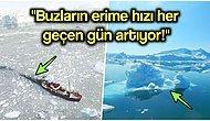 Kuzey Yarım Küredeki Sıcaklık Dalgasının Vurduğu Grönland Adım Adım Eriyor!