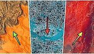 NASA Uydularının Bu Zamana Kadar Çektiği Birbirinden Hayranlık Uyandırıcı 10 Kuş Bakışı Fotoğraf
