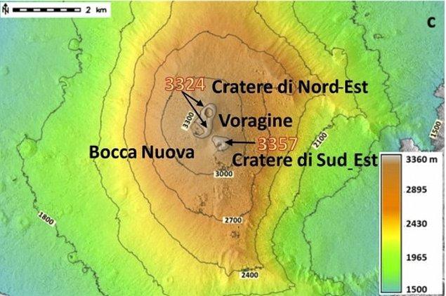 Etna Yanardağı şubat ayından beri faaldi.