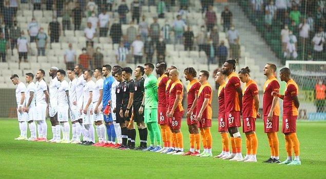 Süper Lig 'de ilk haftanın kapanış mücadelesinde Giresunspor ile Galatasaray karşı karşıya geldi.