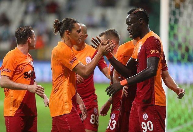 Sarı-kırmızılı ekibe galibiyeti getiren goller 31. dakikada Diagne ve 45+2'de penaltıdan Cicaldau'dan geldi.