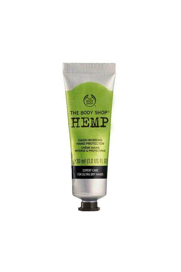 20. Body Shop el kremi, özellikle elinde egzama olan veya çok kuru ellere sahip olanların favorisi.
