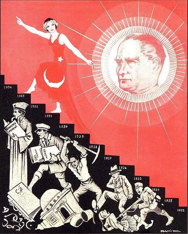 1919'da başlatabileceğimiz Atatürk Türkiye'si ise laikliği 'ilmek ilmek' işler ve yola Amasya ve Erzurum'da başlar. Hakimiyetin...