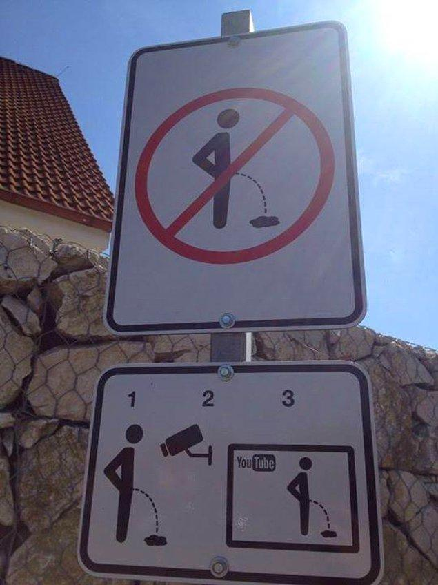 7. Çekya'da insanların sokağa işememeleri için en caydırıcı yöntem bulunmuş.
