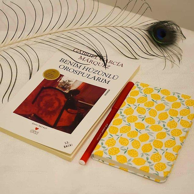 6. Benim Hüzünlü Orospularım - Gabriel Garcia Marquez (96 sayfa)