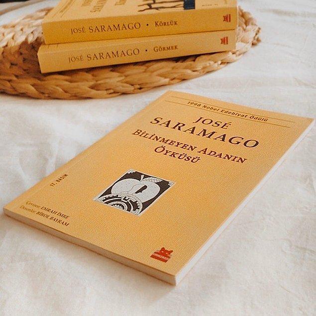 3. Bilinmeyen Adanın Öyküsü - Jose Saramago (59 sayfa)