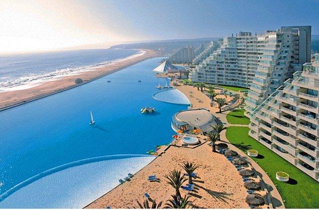 6. Şili, San Alfonso Del Mar, Dünyanın En Büyük Yüzme Havuzu