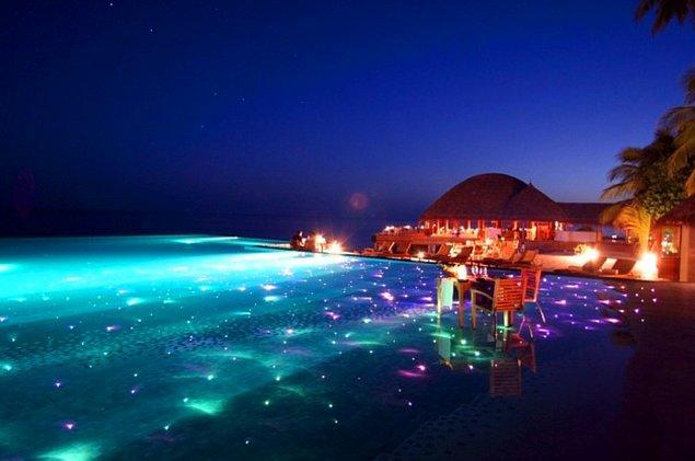10. Huvafen Fushi, Maldivler