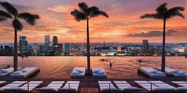 11. Büyüleyen İnfinity Havuz Tasarımları