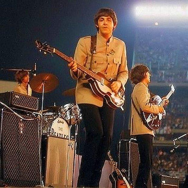 The Beatles - Shea Stadyumu, 1965