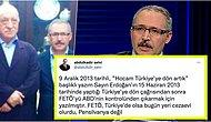 Abdulkadir Selvi 'Hocam Türkiye'ye Dön Artık' Adlı FETÖ'ye Referans Ettiği Yazısını Açıklayınca Gündem Oldu!