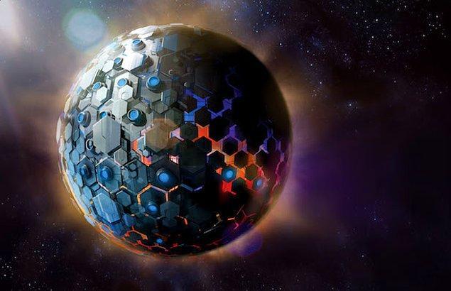 Kara deliğin etrafını Dyson küresiyle sarmalarının enerji sorunlarını gidermek üzere uygulayabilecekleri en etkili çözüm olduğu aşikâr.
