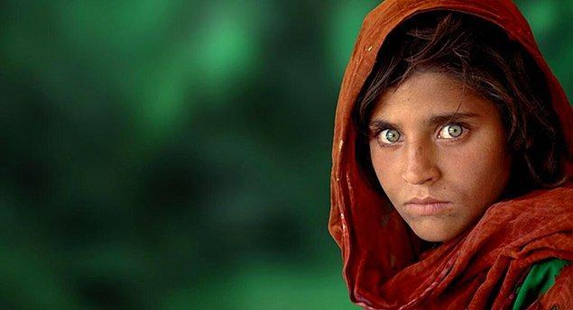 Ünlü Afgan Kızı fotoğrafını herhalde bilmeyen yoktur...
