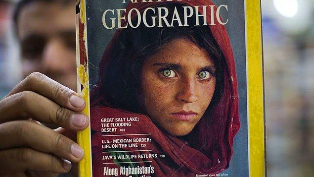 McCury, Pakistan'daki kamplarda kalan mültecilerin yaşadığı zorlukları anlatan bir makale için bu kareyi çekmişti.