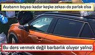 Antalya Halkının Çöp Konteynerinin Önüne Park Eden Araç Sürücüsüne Verdiği Ders Olay Yarattı
