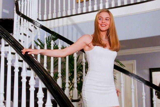 5. Cher Horowitz'in, Clueless'ta giydiği Calvin Klein marka elbise.
