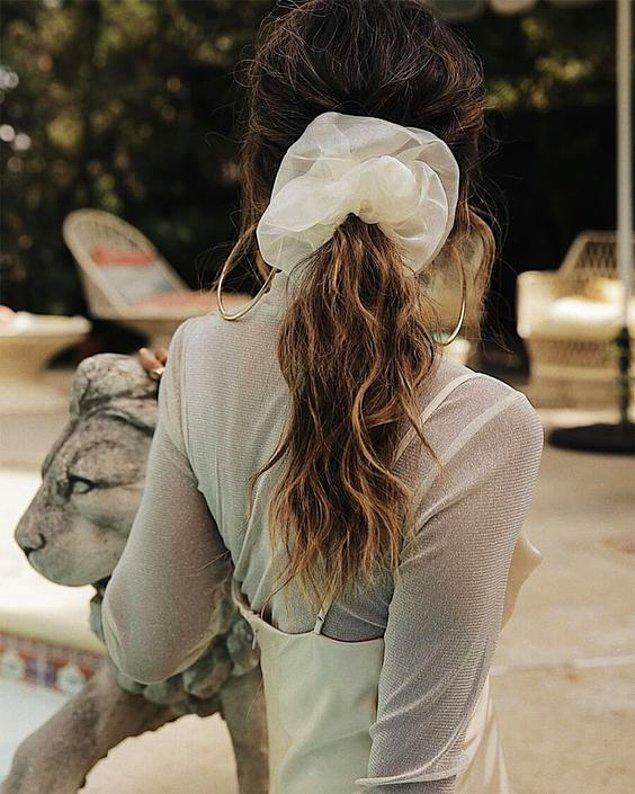 9. Hacimli tokalar ile saçlarınızı olduğundan çok daha gür gösterin!