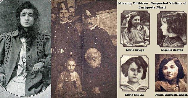 Marti, 10 Şubat 1912'de son kurbanı Teresita Guitart Congost'u kaçırdı. İki hafta boyunca onu aradılar fakat yetkililer kayıp çocuklar konusunda son derece pasif  oldukları için halkta büyük bir öfke vardı. Şüpheli bir komşu olan Claudia Elias, Congost'un izini buldu ve yetkililere haber verdi.