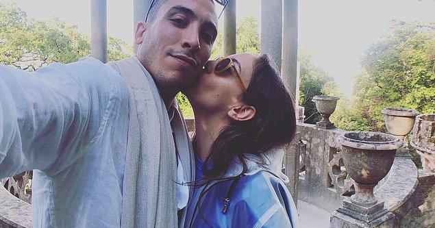 """12. Ve kocaman bir öpücük! Öykü Karayel bu fotoğrafı """"I love you!"""" açıklamasıyla paylaşmış."""