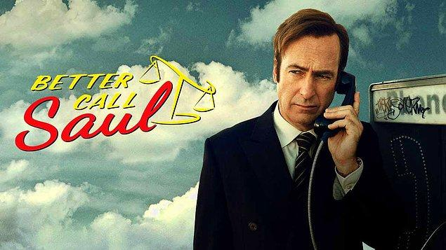 1. Better Call Saul (2015 - ) - IMDb: 8.7