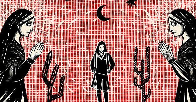 2. Meksika'da Katolik rahibelerin yönetimindeki bir yatılı okulda kız öğrenciler yürüme yetisini kaybetti.
