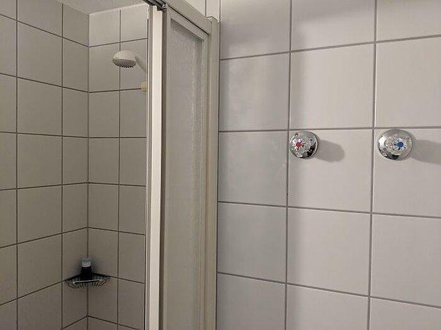 7. Suyun sıcaklığını değiştirmek için duştan çıkmanız gerekiyor.