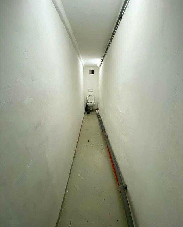 15. Tuvalet kağıdının bittiğini düşünün...