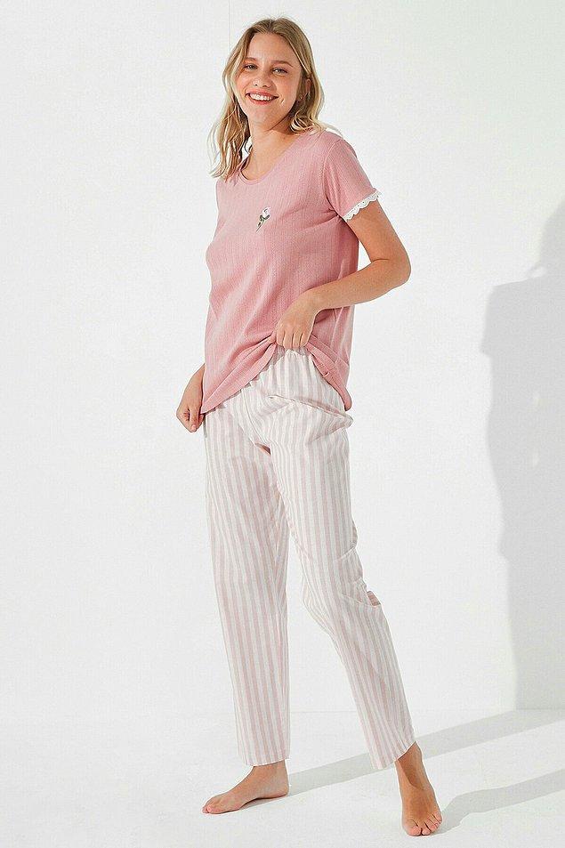 11. Penti pijama konusunda yine harikalar yaratmış