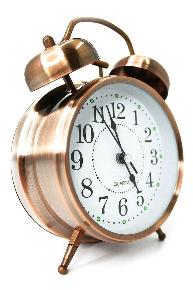 10. Sabahları biraz daha erken kalkmak için çalar saat seçeneklerine göz atmalısınız.