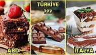 Farklı Ülkelerin Mutfaklarından Birbirinden Lezzetli 16 Çikolatalı Tatlı Çeşidi