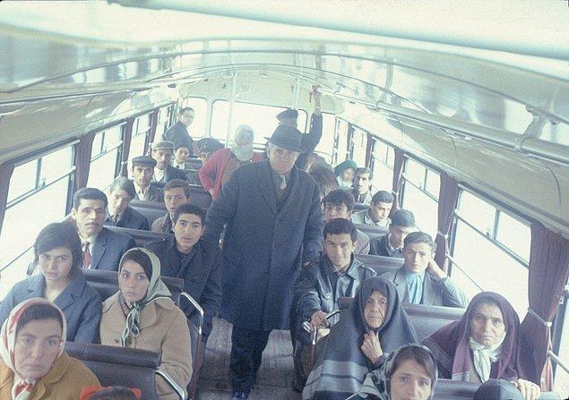 8. Şehirler arası yolculuk, İstanbul, 1970.