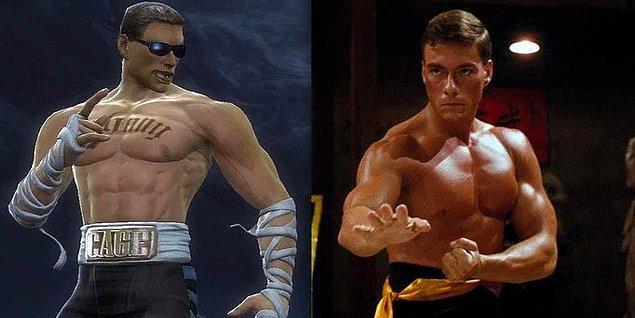 2. Johnny Cage - Jean Claude Van Damme