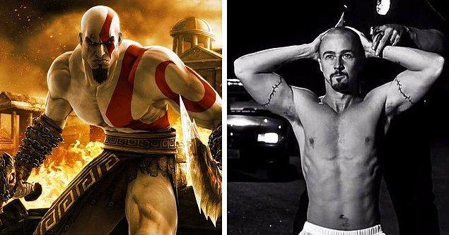 13. Kratos - Edward Norton