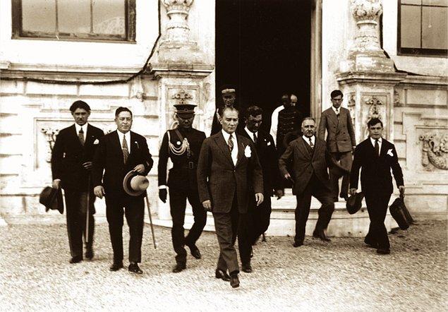 5. 31 Ağustos 1929, Genelkurmay Başkanı Fevzi Çakmak'ın kutlama telgrafına cevabı...