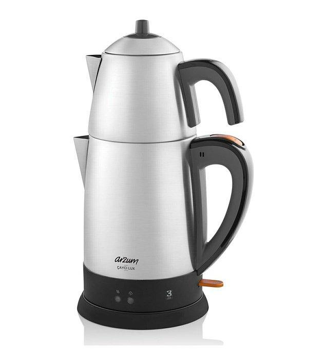 7. Arzum Çaycı Lux Çelik Çay Makinesi