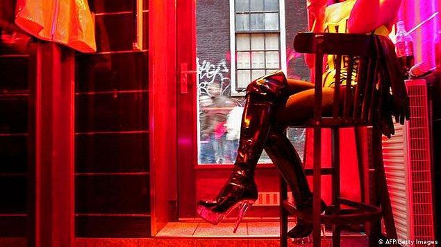 Amsterdam denince belki de akla ilk gelen yer: Red Light District