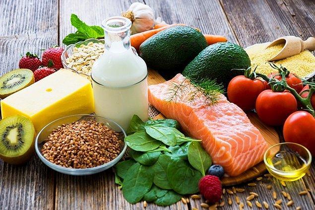 8. Düzenli beslenme