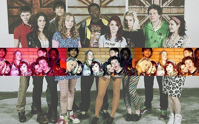4. Skins (2007 - 2013) - IMDb: 8.2