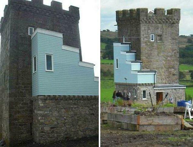9. 500 yıllık kaleye yapılan renovasyon: